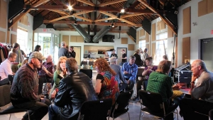 Political speed dating event in Whitehorse, Yukon, Canada