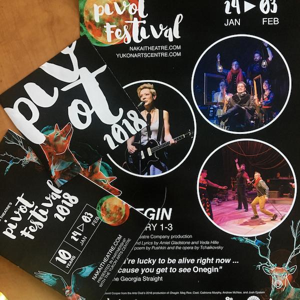 Pivot Theatre Festival Branding