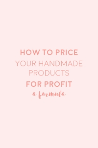 pricing products for profit formula